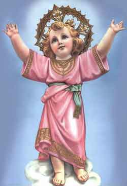 El Divino Niño Jesús.