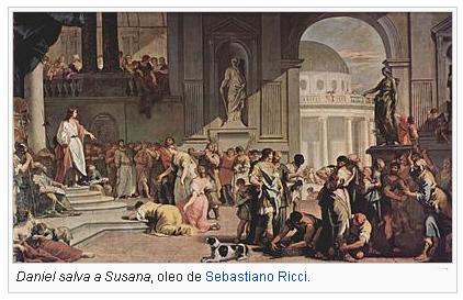 Daniel salva a Susana.